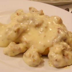 Lewis' Midwestern Sausage Gravy Recipe - Midwestern sausage gravy goes quite nicely with biscuits, eggs, or any breakfast item of your choice and is ready in 30 minutes.