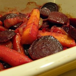 Purple Beet, Carrot, and Onion Medley