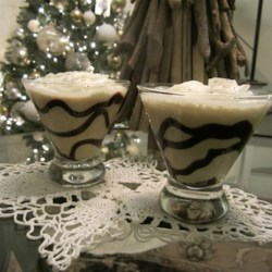Nogtini Recipe - Make the nogtini your new traditional holiday drink. Shake eggnog, coffee-flavored liqueur, and vodka together and strain into a martini glass.