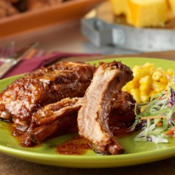Slow-Cooked Sweet and Spicy Baby Back Ribs