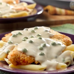 Creamy Chicken Piccata with Penne Pasta Recipe - Here's a twist on traditional Chicken Piccata that's sure to earn rave reviews. The creamy Alfredo sauce is what makes this dish incredibly delicious.
