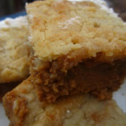Easy Pumpkin Pie Bars Recipe - These pumpkin pie bars have all the flavor of a pumpkin pie and are much less work.