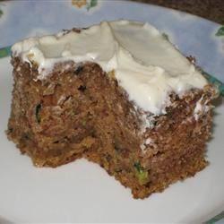 slice of Zucchini Cake I