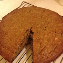 Nutty Banana Bread Recipe - This is just a really good and hearty banana bread. If you're not a nut person just omit them, you can also add a few raisins if you'd like. I like it right after its made, drenched in whipped butter. It's so yummy.