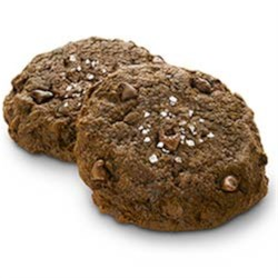 Dark Chocolate Sea Salt Cookies with Truvia(R) Baking Blend Recipe - Decadent and delicious, these dark chocolate sea salt cookies contain 25% fewer calories and 83% less sugar than the full-sugar version.