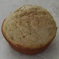 Banana Pancake Muffins Recipe - Quick and easy banana muffins make with soy milk.