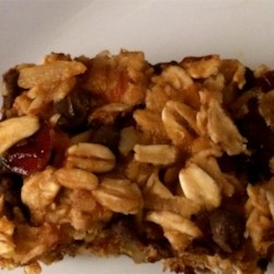 Sweet and Tart Vegan Granola Bar