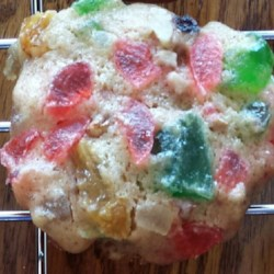 Fruitcake Cookies Recipe - I make these cookies in place of Fruitcakes. They go much faster.  These cookies will keep indefinitely in the refrigerator, or store in a closed tin after baking. They are better after several days. Best if made a week or two before Christmas, and hope some are left for Christmas