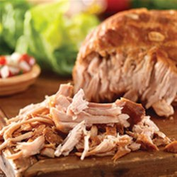 Puerto Rican Shredded Pork Recipe - Put your own spin on delicious with this easy-to-prepare Puerto Rican Shredded Pork roast, made with fresh citrus juice, garlic and herbs.