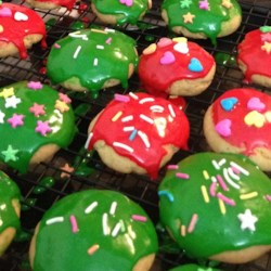 Healthier Sugar Cookie Icing