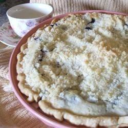 Creamy Blueberry Pie