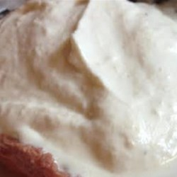 Horseradish Cream Sauce Recipe - Whipped cream, mayonnaise, and horseradish create a creamy condiment perfect for a wide variety of meats.