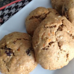 Oatmeal Carrot Raisin Cookies
