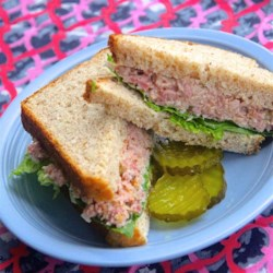Winter Blossom's Often Requested Ham Salad Recipe - A fast, simple chopped ham salad that is great for parties, lunches, or even on toast for breakfast.