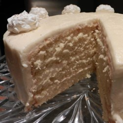 Deep South Eggnog Cake Recipe - You can really taste the eggnog in this lovely, rich, moist cake. No eggnog? No problem: you can make homemade eggnog for this recipe in a jiffy. Nothing says Southern hospitality like this impressive cake.