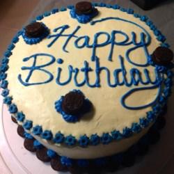 Boys bday cake