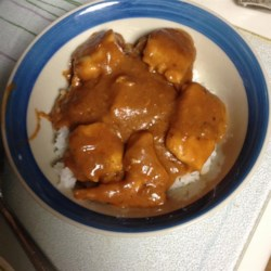 Chicken in Peanut Sauce Recipe - This dish results in tender, buttery chicken breasts in smooth peanut sauce and will have you adding this to your recipes for chicken.