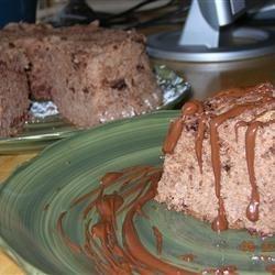 Chocolate Angel Food Cake II