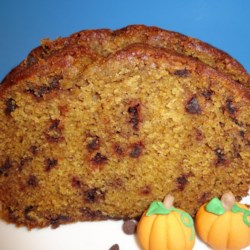 Pumpkin Chocolate Chip Gingerbread