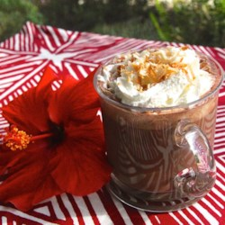 Hawaiian Hot Chocolate Recipe - The flavors of Hawaii combine in this coconut-infused hot chocolate, perfect for a cool evening.