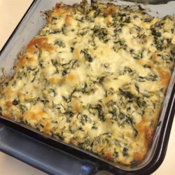 Chef John's Hot Spinach Artichoke Dip Recipe - This rich, delightful, hot spinach-artichoke dip is the perfect accompaniment for watching a game or as an elegant appetizer.
