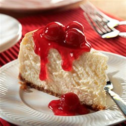 Our Best Cheesecake Recipe - Not only is this our best cheesecake-a rich, creamy, cherry-topped showstopper--it's also one of the easiest to make!