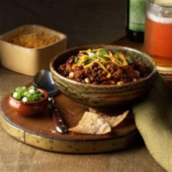 MVP Chili Recipe - While chili snobs will argue over what true chili really is, you'll be enjoying this amazing recipe that brings together many well-loved (if hotly debated) chili ingredients.  The Johnsonville Italian Sausage gives the dish an extra boost of flavor and heat that will make all chili fans want more.