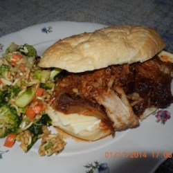 Carolina BBQ Pork Sauce Recipe - In North Carolina, barbeque sauce is made with a vinegar base and ground red pepper. Pork is the meat of choice.