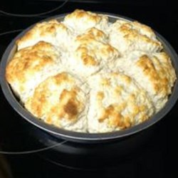 Cathead Biscuits Recipe - Drop biscuits as big as a cat's heat are a southern tradition. Make it your home tradition with this recipe.