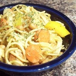 Chicken Noodle Salad with Peanut-Ginger Dressing