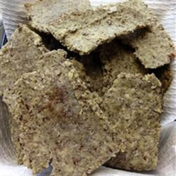 Paleo 'Crackers' Recipe - Homemade crackers made with tapioca flour, ground flax seed, and olive oil will fit into a paleo-friendly lifestyle and are perfect for dips.