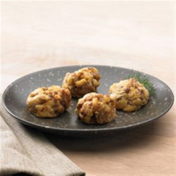 Johnsonville Sausage Balls Recipe - Johnsonville(R) sausage balls are a crowd-pleasing party appetizer any time of year.