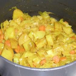 Atkilt - Ethiopian Cabbage and Potato Dish