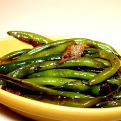 Citrus-Bacon Green Beans