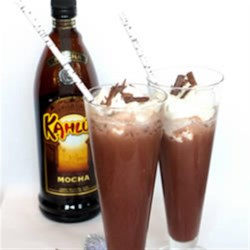 Icy Kahlua Cocoa Recipe - With prepared hot cocoa mix, iced Kahlua Cocoa is ready in no time.