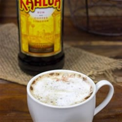 Kahlua Cappuccino Recipe - Bring a chocolate-spice twist to your cappuccino with a little Kahlua and a touch of cinnamon.