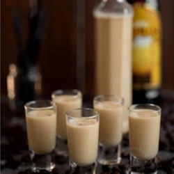 Vanilla Coffee Liqueur Eggnog Recipe - Rich eggnog with vanilla and Kahlua make a festive holiday drink.