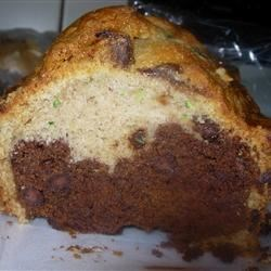Chocolate and chocolate chip zucchini bread