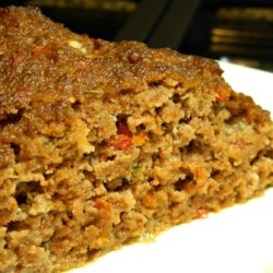 Garden Meatloaf Recipe - An easy meatloaf uses prepared salsa for extra flavor without extra work.