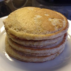100% Whole Wheat Pancakes Recipe - You can use all whole wheat flour and still have light, fluffy pancakes with this recipe that calls for plenty of buttermilk.