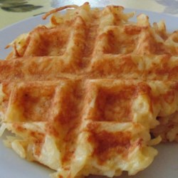 Hash Brown Waffles Recipe - Who says waffle irons are just for waffles? Try making perfectly crunchy hash browns in the waffle maker for your next weekend breakfast.