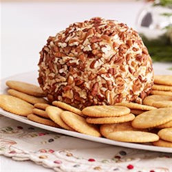 Party Cheese Ball Recipe - Serve this cheese spread on special occasions with whole wheat crackers, pita chips and cut-up celery.