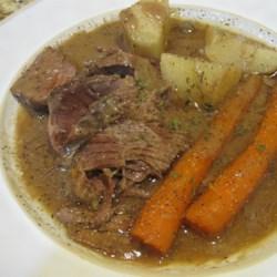 Texas Slow Cooker Pot Roast