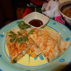 Smokehouse Burger Quesadillas