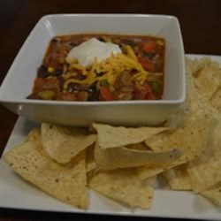 Fiesta Steak Chili