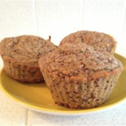 Healthy Protein Morning Glory Muffins Recipe - These morning glory muffins use freshly juiced pineapple and carrots, including the leftover pulp, and hempseed for a fresh and hearty breakfast or brunch item.
