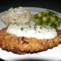Southern Chicken Fried Steak Recipe - My husband's favorite Chicken Fried Steak.