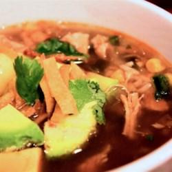 Slow Cooker Chicken Tortilla Soup II