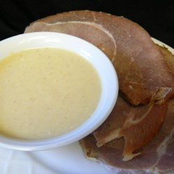 Ham Sauce Recipe - I got this recipe from a friend and my family loves it. Someone always asks to have a little ham with their sauce so now I can't make a ham without it.