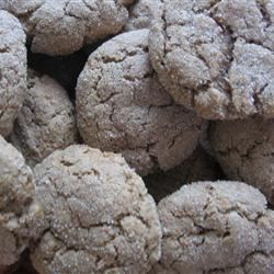 Soft Whole Wheat Sugar Cookies Recipe - These not-too-sweet cookies are soft and moist--perfect with tea or coffee.